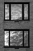 Reflections - Windows and Clouds by Robert Ullmann