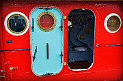 Carol Toepke Prints - Windows and Doors on The Big Red Tug Print by Carol Toepke