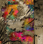 D.w. Mixed Media Posters - Windows II Poster by Yanni Theodorou
