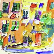Ginette Fine Art LLC Ginette Callaway - Windows in Portofino Italy