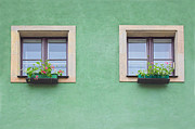 Adobe Buildings Prints - Windows Print by Michal Bednarek