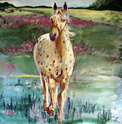 Grazing Horse Originals - Windsong by Patricia Calamari