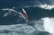 Laird Hamilton Photos - Windsurfer 2 Maui by Bob Christopher