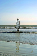 Ocean And Beach - Windsurfing by Ben and Raisa Gertsberg