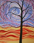 Windswept Print by Kathy Peltomaa Lewis