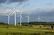 Ecology Art - Windturbines by Bernard Jaubert