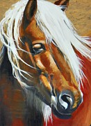 """texas Artist"" Originals - Windy by David Ackerson"