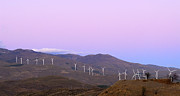 Almeria Prints - Windy power at sunset Print by Guido Montanes Castillo