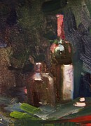 Hall Painting Prints - Wine and a Jug Print by Dan Smart