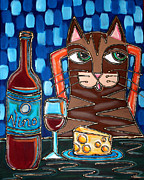 Cynthia Snyder - Wine and Cheese Cat