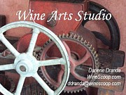 Winepress Photos - Wine Arts Studio by Darlene Dranda