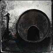 Cellar Posters - Wine Barrel Poster by Marco Oliveira