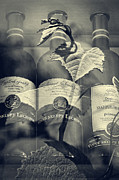 Photomanipulation Photo Prints - Wine - Beginning and the End Print by Martin Dzurjanik