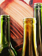 Wine Bottles Photos - Wine Bottles 2 by Sarah Loft