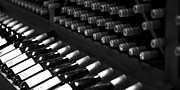ELITE IMAGE photography By Chad McDermott - Wine Bottles on a Rack...