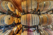 Longhorn Photos - Wine Cask room  by David Morefield