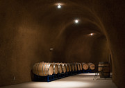 Wine Making Posters - Wine Cave Poster by Jeffrey Banke