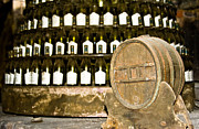 Degustation Framed Prints - Wine cellar in Sancerre Framed Print by Oleg Koryagin