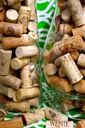 Wine Cork Collection Prints - Wine Cork Collection Print by Scotti Smith