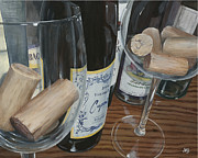 Corks Originals - Wine Fest 2 by Jeanne Beutler