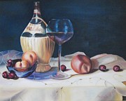 Peaches Originals - Wine First by Michell Givens