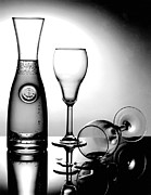 Gary Gingrich Framed Prints - Wine Glasses Framed Print by Gary Gingrich Galleries