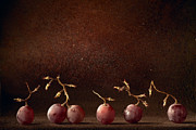 Grape Metal Prints - Wine Grapes Metal Print by Dirk Ercken