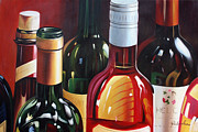 Wine Cork Collection Prints - Wine Not Print by American Artist