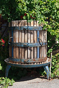 Winepress Framed Prints - Wine Press Framed Print by Antonio Scarpi