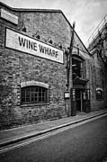 Warehouses Posters - Wine Warehouse Poster by Heather Applegate