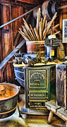 Fruit And Wine Metal Prints - Winemaker - Time for a New Vintage Metal Print by Lee Dos Santos