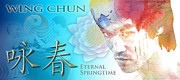 Kung Fu Digital Art - Wing Chun Eternal Springtime by Timothy Lowry