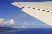 Sami Sarkis - Wing of airplane leaving