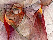 Carlita Cooly - Winged-Abstract Art