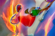 Handblown Glass Art Glass Art - Winged Beauty by Omaste Witkowski