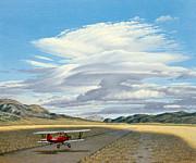 Winged Dreams -travelaire Biplane Print by Paul Krapf