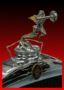 Radiator Cap Photos - Winged Goddess of Speed by Jack Pumphrey