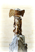 Nike Framed Prints - Winged Victory of Samothrace Framed Print by Conor OBrien