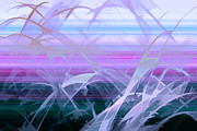 Abstract Digital Art - Wings by Holly Kempe