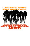 Sassan Filsoof Prints - Winners and Losers Cycling Motivational Poster Print by Sassan Filsoof