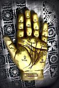 Palmistry Metal Prints - Winning Hand Metal Print by Lynn Sprowl