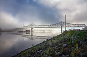 Kari Yearous - Winona Bridge with Fog