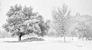 Winona Snowstorm Print by Al  Mueller