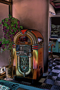 Oldies Prints - Winsteads Jukebox Print by Tim McCullough