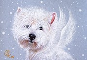 Elena Kolotusha - Winter Angel - Westie