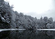 Winter At Clear Creek Print by Anthony Thomas