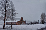The Haunted House Originals - Winter At Moulton Barn  by Dave Bower