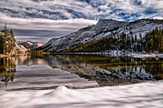 Lake Framed Prints - Winter at Tenaya Framed Print by Cat Connor