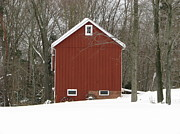 Michael Krek - Winter Barn