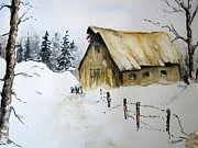 Stephanie Sodel - Winter Barn